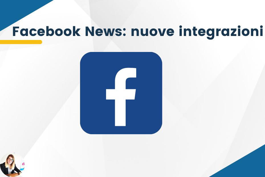 Facebook News: nuove integrazioni per Instagram e Whatsapp